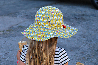 Detské čiapky - Letný klobúčik - 9498641_