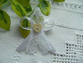 Pierka - Pierko svadobné čipkové - 9497151_