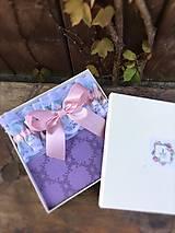 Bielizeň/Plavky - Vintage podvazok Pink - 9495178_