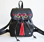 VEVO batoh (čierny - výšivka)
