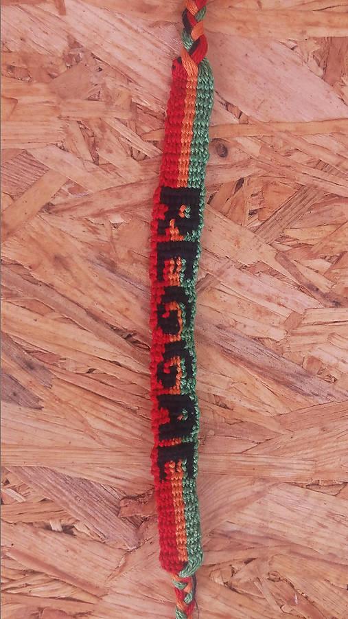 f3fc35d2e Reggae / Layfi - SAShE.sk - Handmade Náramky