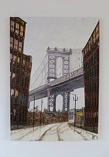 Obrazy - Obraz - Brooklyn, dumbo bridge - Reprodukcia - 9499586_