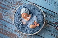 Detské čiapky - čiapka pre novorodenca - 9499368_