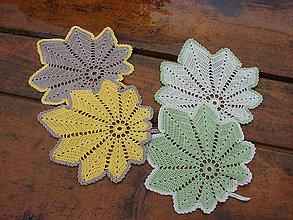 Úžitkový textil - háčkované obrušteky