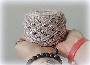 Materiál ručne robený - Lesklá - merino vlna s hodvábom - 9499278_