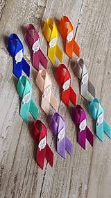 Pierka - pierka s lístočkom rôzne farby - 9502073_