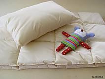 Textil - Detský set do postieľky JUNIOR ECRA paplón a vankúš - 9500063_