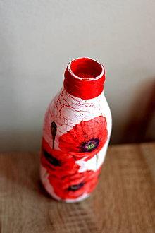 Dekorácie - Váza vlčie maky - 9500625_
