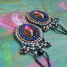 Náušnice - Flamenco earrings n.3 - 9501350_