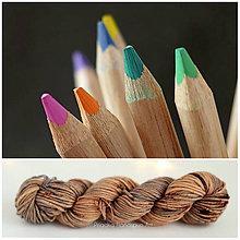 Galantéria - PASTELS - ručne farbená priadza merino superwash DK - 9501293_