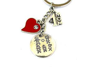 Kľúčenky - den matiek - mama je jednotka rodiny klucenka - 9502274_