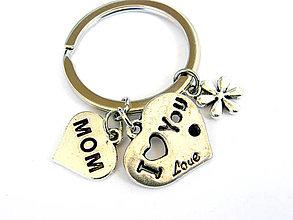 Kľúčenky - den matiek - lubim ta mama II - 9502298_