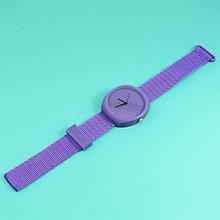 Náramky - Designové hodinky duha violet - 9501359_