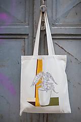 Nákupné tašky - Ručne maľovaná taška Dracea - 9501972_
