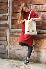 Nákupné tašky - Ručne maľovaná taška Dracea - 9501973_