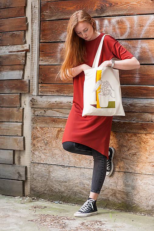 Ručne maľovaná taška Dracea