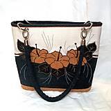 Kabelky - Romantická kabelka denim - Izabela II - 9499165_