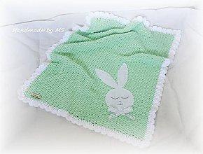 Textil - Detská deka ZAJKO - 9500842_