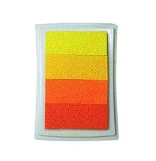 Farby-laky - PP104 Poduška pod pečiatky (Žltá) - 9500406_