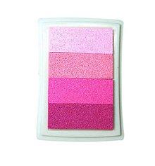 Farby-laky - PP104 Poduška pod pečiatky (Ružová) - 9500408_