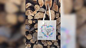 Nákupné tašky - ♥ Plátená, ručne maľovaná taška ♥ (MI27) - 9502949_