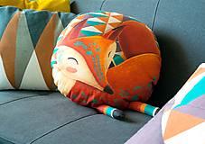 Úžitkový textil - Sleeping Foxy - Large - 9502992_