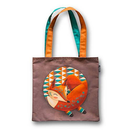 Bag - Sleeping Foxy