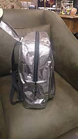 Batohy - Strieborný batoh (backpack) - 9499706_