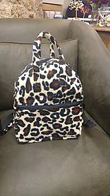 Batohy - Leopard batoh (backpack) - 9499847_