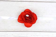 Náramky - Náramok červená ruža - 9500963_