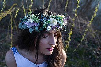 """Ozdoby do vlasov - Svadobný polvenček """"ako púštny kvet"""" - 9499928_"""