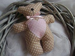 Darčeky pre svadobčanov - Macíky do ručičky - 9501455_