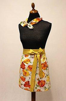 Iné oblečenie - polo-zástera Tinka - 9504965_