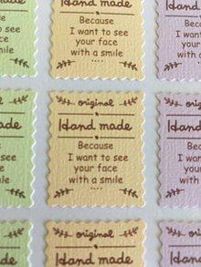 Papier - Nálepky Original Handmade známky - 9504048_