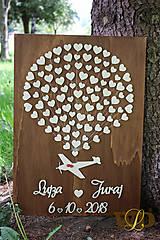Dekorácie - Svadobný let - svadobný strom - 9504294_