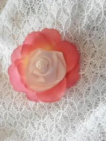 Odznaky/Brošne - kvetinková brošňa - 9504326_