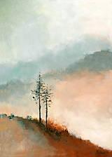 Obrazy - Svitanie pod vrchmi II  - 9504327_