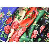 Sukne - MARÍNA - kvetinová maxi sukňa - 9504162_