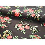 Sukne - MARÍNA - kvetinová maxi sukňa - 9504163_
