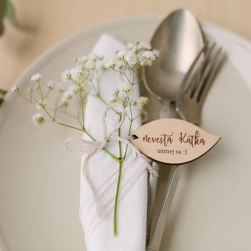 Darčeky pre svadobčanov - menovko/magnetky - pre svadobčanov - 9505968_