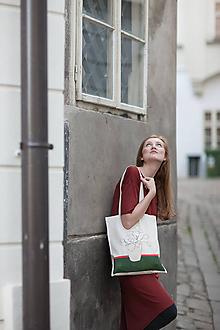 Nákupné tašky - Ručne maľovaná taška Paráda - 9506470_