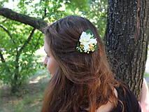Ozdoby do vlasov - květiny zasněné - 9505695_