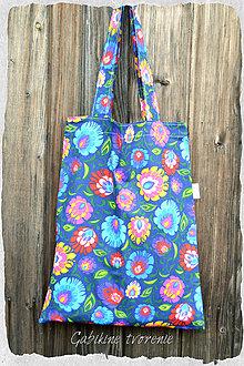 Nákupné tašky - Taška na plece folk - 9506363_