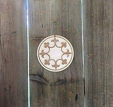 Tabuľky - Ľaliový kruh (priemer kruhu 15 cm) - 9505277_
