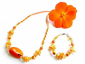 Sady šperkov - Tagua begonia - 9505476_
