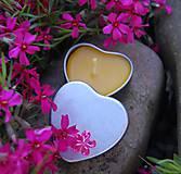 Svietidlá a sviečky - Kovové srdiečko - sviečka - 9505612_