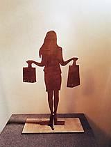 Dekorácie - Stojan na šperky - nákupná maniačka - 9503391_