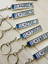 Kľúčenky - Kľúčenka ŠPZ - 9504378_