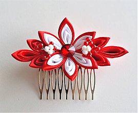 Ozdoby do vlasov - Elegantní hřeben do vlasů - 9506668_