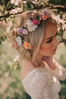 Ozdoby do vlasov - Sada romantických sponiek - 9506344_